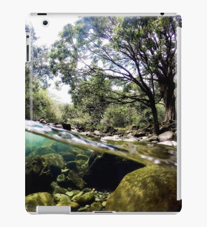 Iao Valley River In Maui iPad Case/Skin