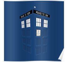 Tardis Blue Poster