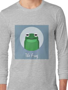 The Frog Cute Portrait Long Sleeve T-Shirt