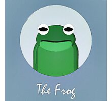 The Frog Cute Portrait Photographic Print