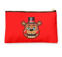 Five Nights at Freddy's 2 - Pixel art - Blue eyes Toy Freddy Studio Pouch