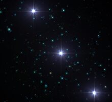 Orion's Belt Ver-1 by Joseph Campbell