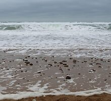 Beach In Cornwall by rumisw