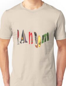 rAnDoM T-Shirt Unisex T-Shirt