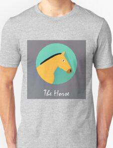 The Horse Cute Portrait T-Shirt