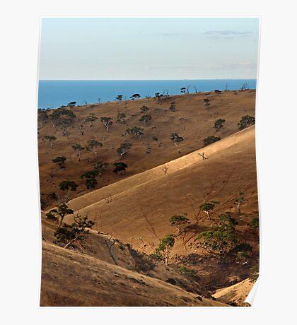 Ocean View - Myponga, South Australia Poster