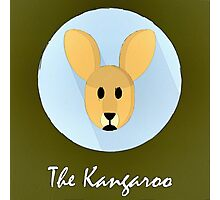 The Kangaroo Cute Portrait Photographic Print