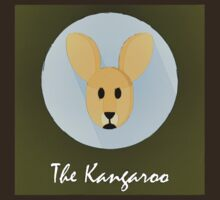 The Kangaroo Cute Portrait by Florian Rodarte