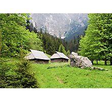 Tatra Mountains in Poland Photographic Print