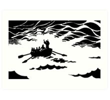 Calming the Storm  Art Print