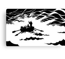 Calming the Storm  Canvas Print