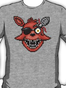 Five Nights at Freddy's 2 - Pixel art - Foxy T-Shirt