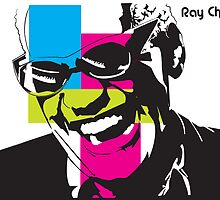 ray charles pop art by missyc