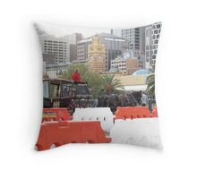 CBD Horsepower Throw Pillow