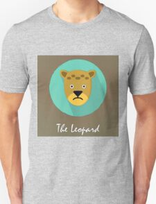 The Leopard Cute Portrait T-Shirt