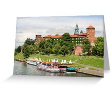The Wawel Royal Castle in Cracow Greeting Card