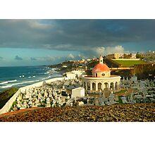 San Juan Cemetery  Photographic Print
