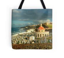 San Juan Cemetery  Tote Bag
