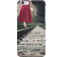 railway tracks iPhone Case/Skin
