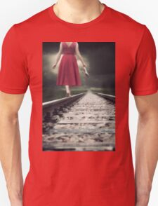 railway tracks Unisex T-Shirt