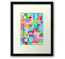 BUBBLEGUM DREAM Framed Print