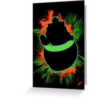 Super Smash Bros. Bowser Jr Silhouette Greeting Card