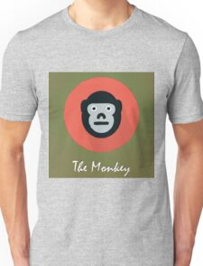 The Monkey Cute Portrait Unisex T-Shirt