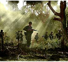 Vietnam - Jungle Patrol by A. Hermann