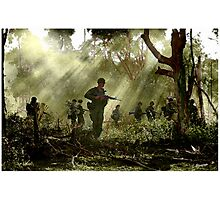 Vietnam - Jungle Patrol Photographic Print