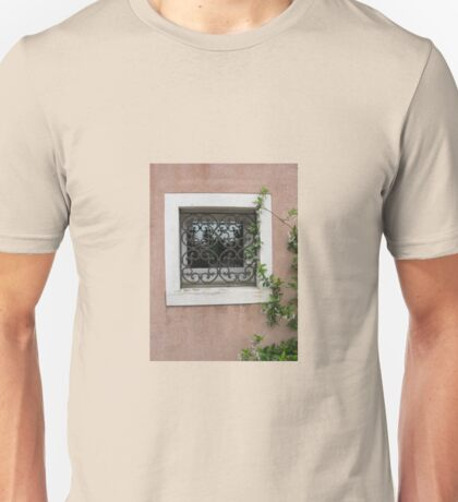 SQUARE WINDOW WITH CREEPER Unisex T-Shirt