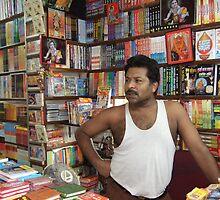 A Bookseller - Haridwar by DeborahDinah