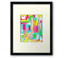 TO THE MOON!! Framed Print