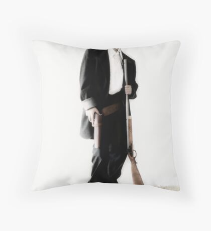 The Gunslinger Throw Pillow