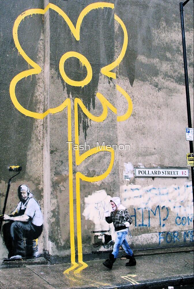 London Banksy, 2007 by Tash  Menon