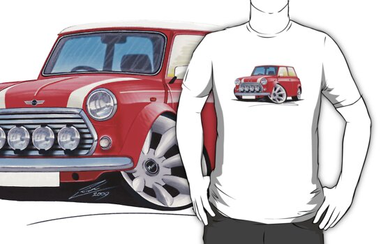 Rover Mini Cooper Sport Red by Richard Yeomans