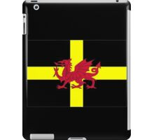 St Davids Cross And Welsh Dragon  iPad Case/Skin