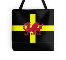 St Davids Cross And Welsh Dragon  Tote Bag