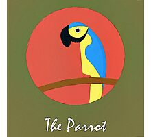 The Parrot Cute Portrait Photographic Print
