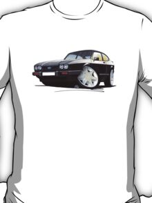 Ford Capri (Mk3) Black T-Shirt