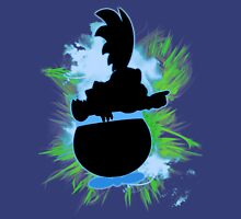 Super Smash Bros. Larry Silhouette Unisex T-Shirt