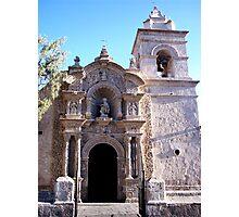 Volcanic Ash Stone Church Photographic Print