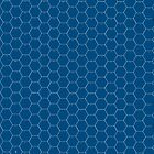 POSTER; 16x20 HEXES White on BLUE Black numbers by Radwulf
