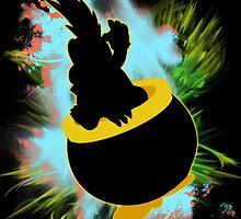 Super Smash Bros. Lemmy Silhouette by jewlecho
