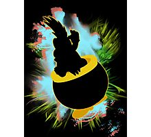 Super Smash Bros. Lemmy Silhouette Photographic Print