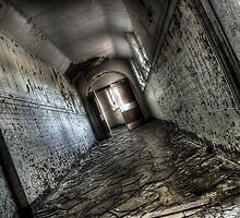 Chaotic Corridor by Richard Shepherd