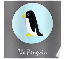 The Penguin Cute Portrait Poster