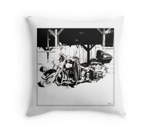 Iron Horse II Throw Pillow