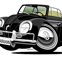 VW Beetle Convertible Cabriolet black by car2oonz