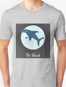 The Shark Cute Portrait T-Shirt