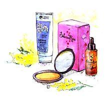 Cosmetics by katzegraphics